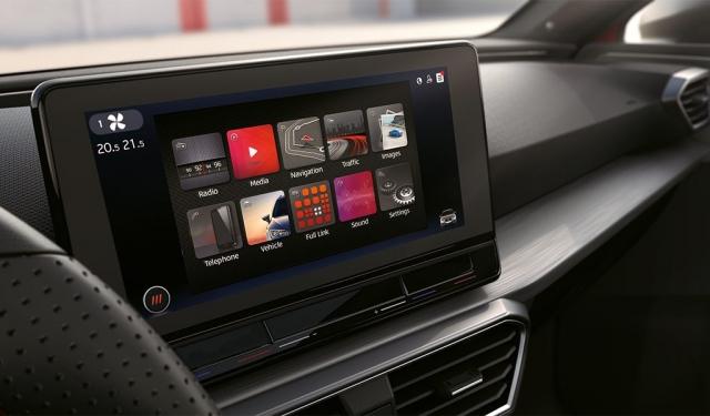 Das Media-System des neuen SEAT Leon